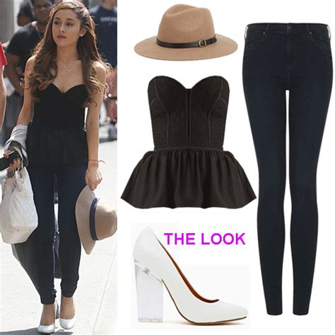 what is ariana grandes style thelookbook ariana grande s style