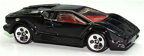 Hotwheels Lamborghini Countach 25th Anniversary 25th anniversary lamborghini countach collect wheels