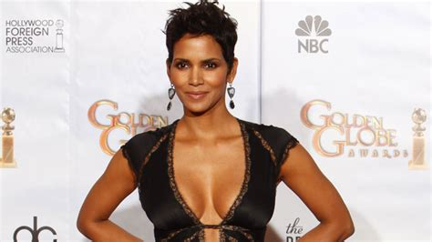 Halle Berry May Be Getting Hitched Soon by Halle Berry Reveals How She Keeps 48 Year Ta Tas