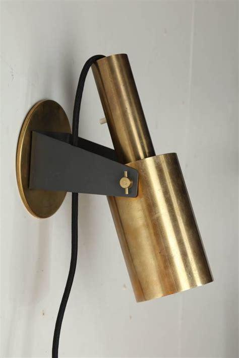 Modern Brass Wall Sconce Pair Of 1960s Italian Modern Articulating Brass Wall