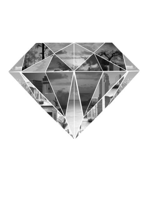 Diamond Art Print | Why not, Geometric shapes and Wedding