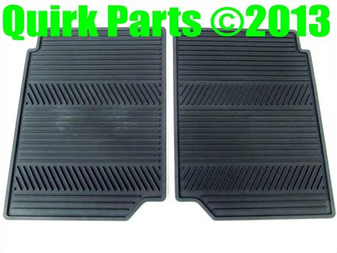Gmc Terrain All Weather Floor Mats by 2010 2013 Chevy Equinox Gmc Terrain Rear All Weather Floor