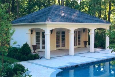 house behind house designs custom pool house cabana pools and summer pinterest