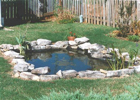 backyard ponds take the plunge tips for building a pond dr s country