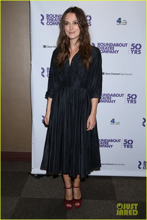 Keira Knightley Amuri And Mamie Gummer On The Carpet For Atonement by Keira Knightley Clive Owen Celebrate Roundabout S 50th
