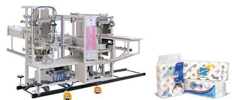 Paper Equipment - toilet paper packaging machine
