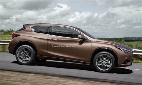 infiniti q30 3 door rendering looks makes us want a