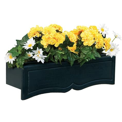 handy home products small flower box with liner 18803 9