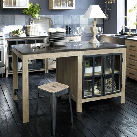 sur la table kitchen island cuisine avec 238 lot central 43 id 233 es inspirations