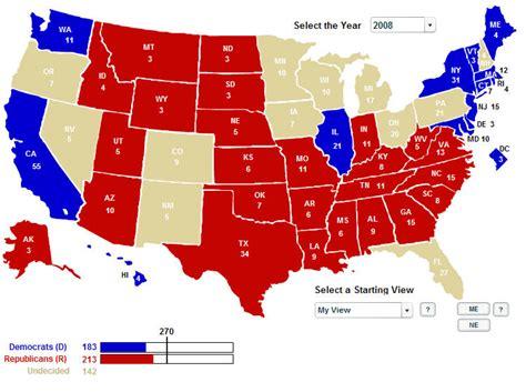 us map democratic states electoral 2008 s jpg