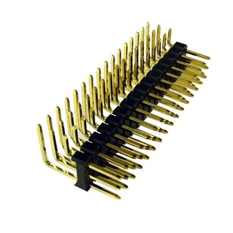 1x20pin Header Right Angle Single Row Socket 2 54mm Pitch 3x16 right angle pin headers for pcb build your own drone