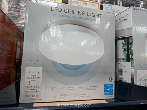 costco motion sensor light winplus winplus led ceiling light