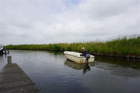 visboot huren visboot toerboot boten huren in friesland