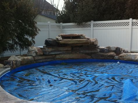 how to build a pool waterfall tag archive for quot custom pools quot landscaping company nj
