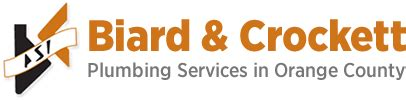 plumbing services in orange county biard crockett