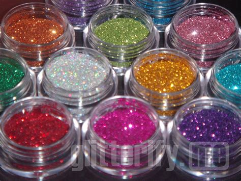 types of glitter glitterify me