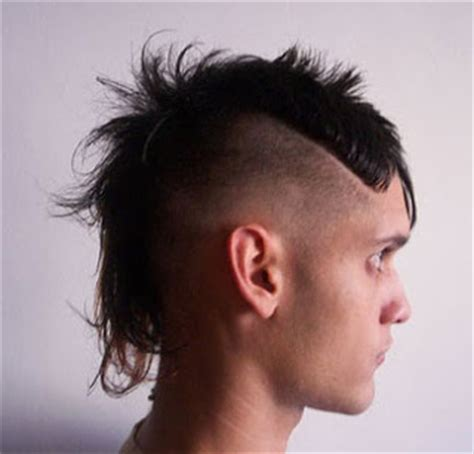 style rambut punk pgp foto gambar photo men mullet hairstyles foto