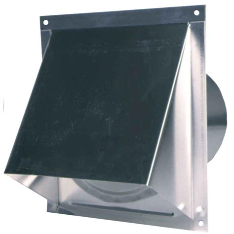 Kitchen Exhaust Vent Wall Cap by Master Flow 6 In Wall Vent With Screen And Der