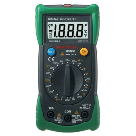 Multimeter Digital Mastech mastech ms8233b digital multimeter 24 95