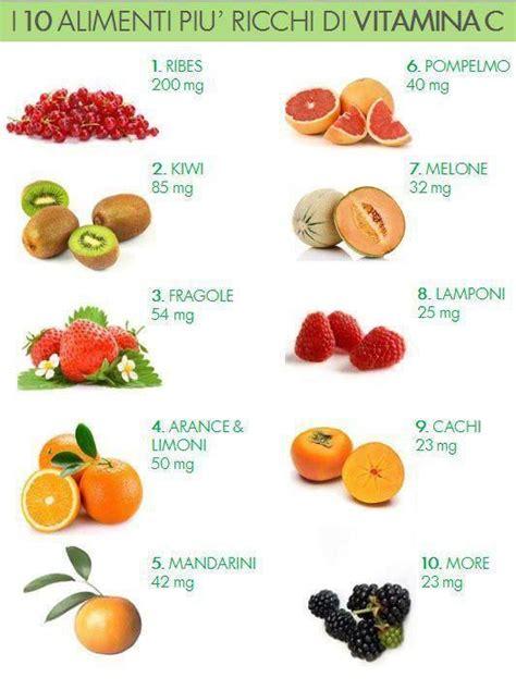 alimenti ricchi di vitamina c 10 alimenti ricchi di vitamina c info grafiche