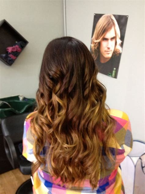 honey brown hair with ombre brown to honey blonde ombr 233 headquarters hair studio