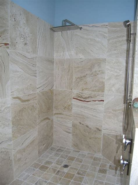 houzz bathroom floor tile leonardo travertine tiles modern bathroom ta by
