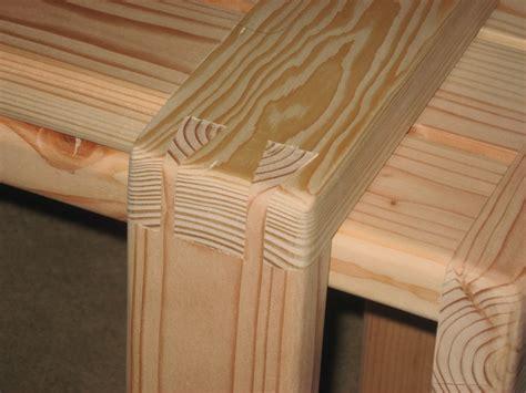 benches  sitting mortisetenon  dovetail