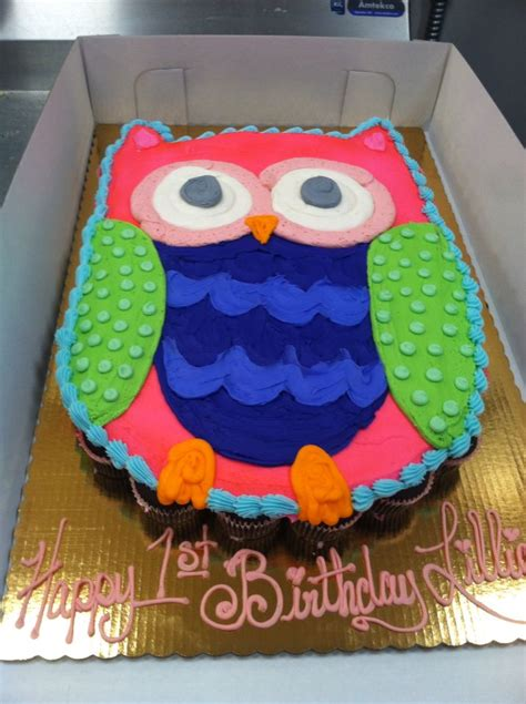 Owl Icing Decorations by Best 25 Owl Cupcake Cake Ideas On