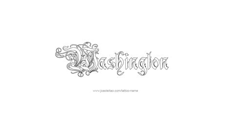 washington tattoo washington usa state name designs page 4 of 5