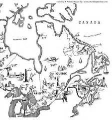 map of canada to colour canada colouring pages