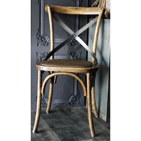 furniture black iron dining chair with cross back placed vintage provincial iron cross back dining chair buy