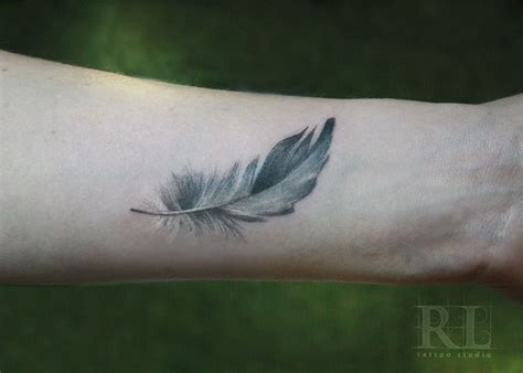 feather is skin more ink