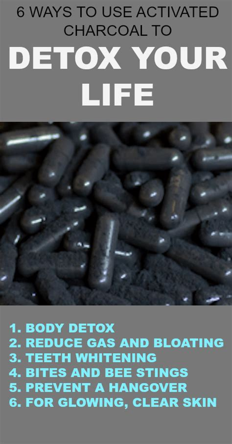 How To Use Charcoal Detox by 6 Ways To Use Activated Charcoal To Detox Your