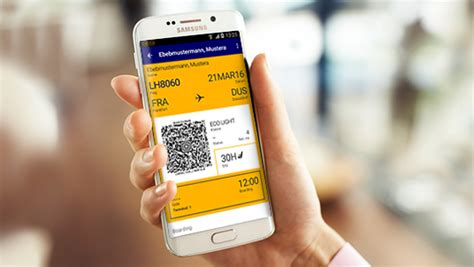 mobile lufthansa check in the mobile boarding pass lufthansa 174 united states of