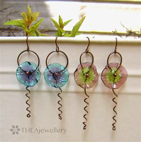 jewelry tutorials earrings simple wire work flower earrings tutorial the beading