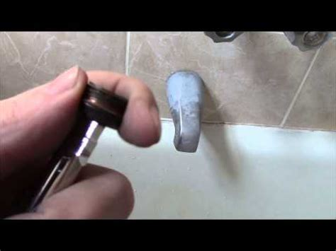 How To Replace A Faucet Seat by How To Replace A Bathtub Faucet Seat And Easy