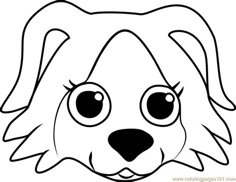 coloring pages of dog faces border collie puppy coloring pages printable coloring
