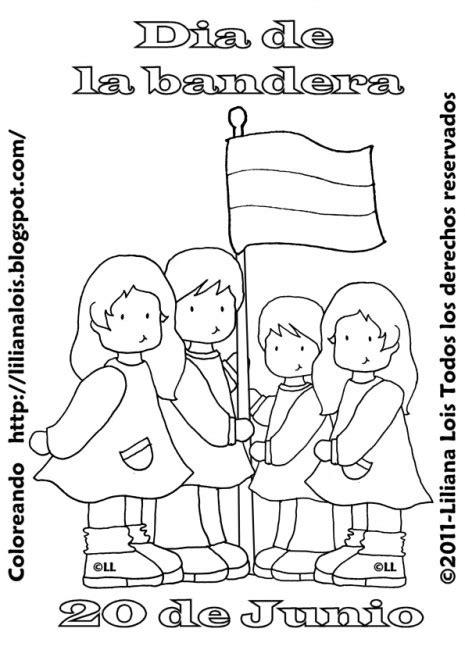 Pintamos Banderas Argentinas para el 20 de junio: Imágenes