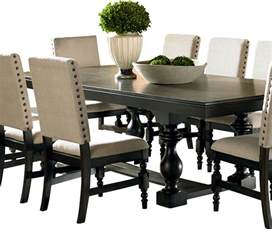 dinner tables pics shop houzz steve silver company steve silver leona rectangular dining table in dark hand