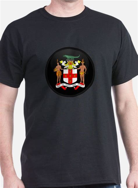 ideas for xmas tshirts for jamaica jamaican coat of arm gifts merchandise jamaican coat of arm gift ideas apparel cafepress