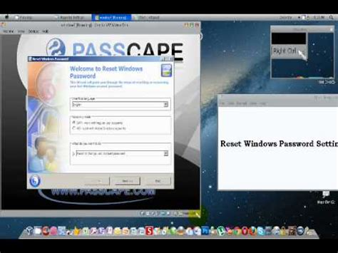passcape reset windows password iso full reset or remove forgotten windows password iso youtube
