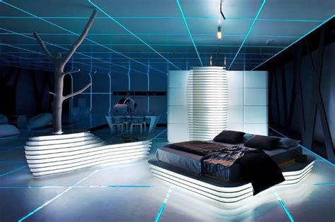 10 futuristic bedroom design ideas