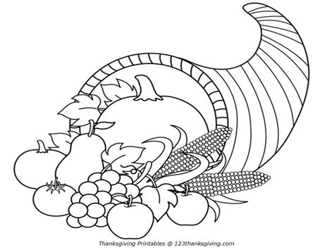 thanksgiving coloring pages for kindergarten az coloring