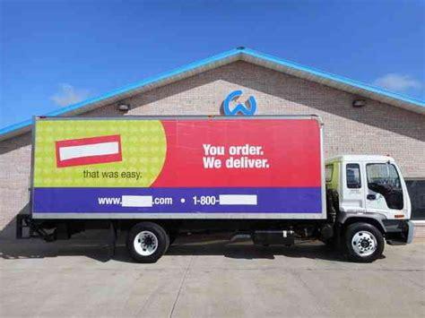 isuzu box truck 2007 box trucks