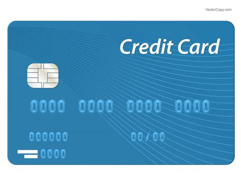 Credit Card Eps Template Credit Cards Vector