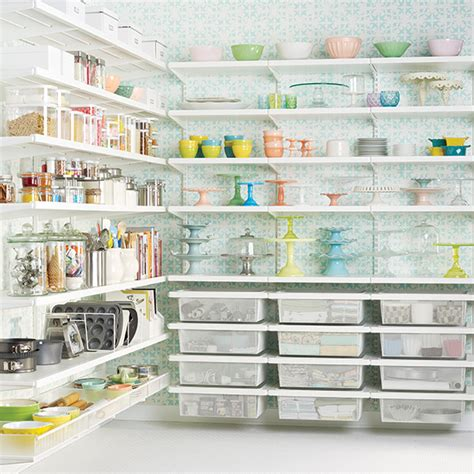 Elfa Pantry | white elfa d 233 cor baker s pantry the container store