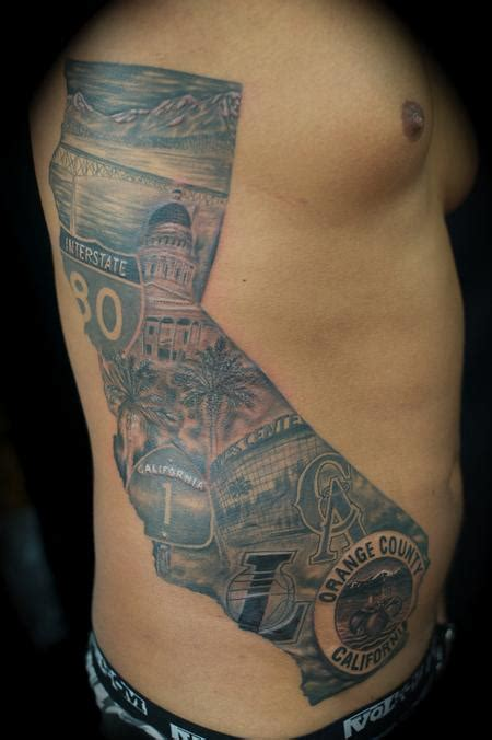 tattoo pictures california cali mural california by ryan el dugi lewis tattoonow