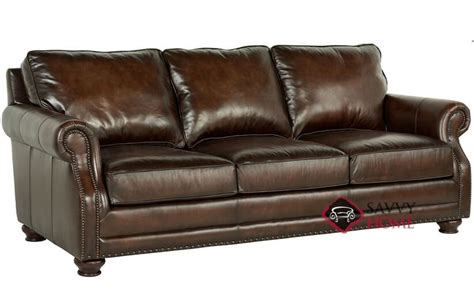 princeton leather sofa princeton leather sofa with down blend cushions by