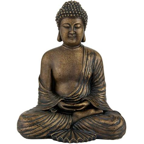 sitting buddha statue table accents home accents buddhist statues 12 quot japanese sitting buddha statue