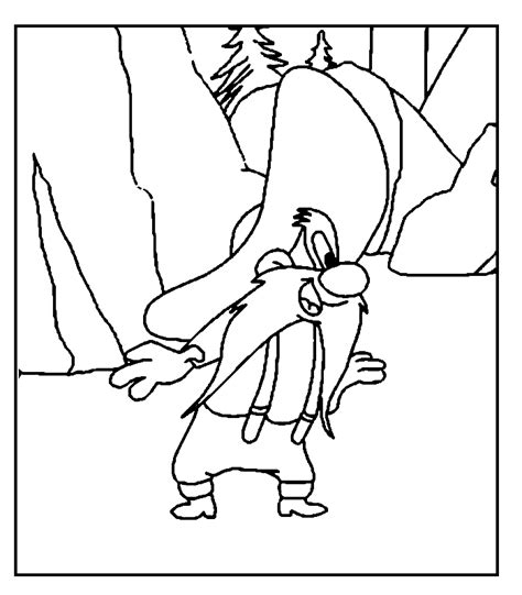 yosemite sam coloring pages coloring home